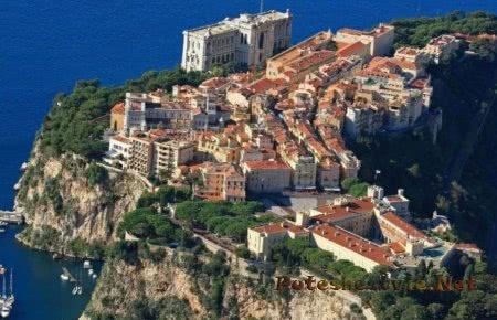 Старинный город княжества - Монако-Вилль