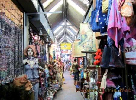 Рынок Чатучак в городе Бангкок