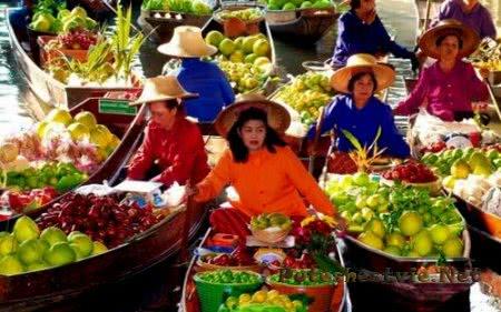 Популярные рынки Таиланда