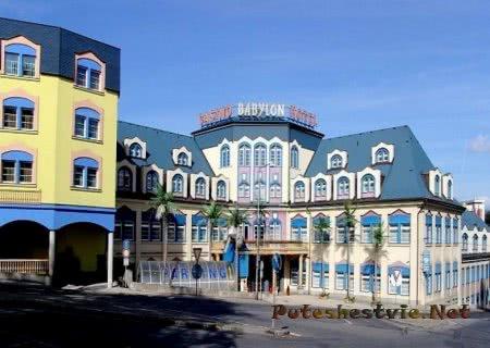 Развлекательный центр Вавилон в городе Либерец