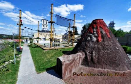 Парк Пермониум в городе Ославаны
