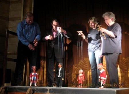 Кукольный театр Спейбла и Гурвинека в городе Прага