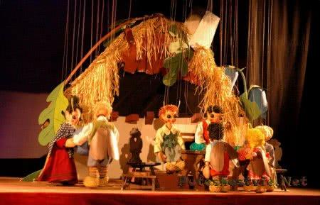 Кукольный театр Кашпаркова ржише в городе Оломоуц