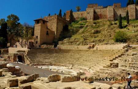 Римский театр Малаги