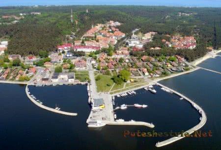 Курорт Неринга на Балтийском море