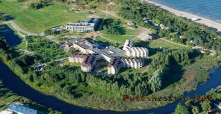 Курорт Швентойи на Балтийском море