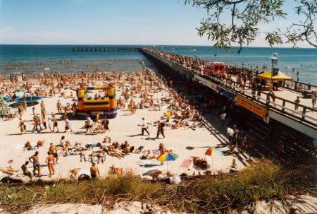 Курорт Паланга на Балтийском море