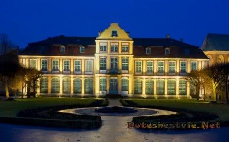 Аббатский дворец в Оливе