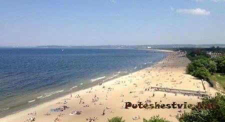 Пляжи Гданьска