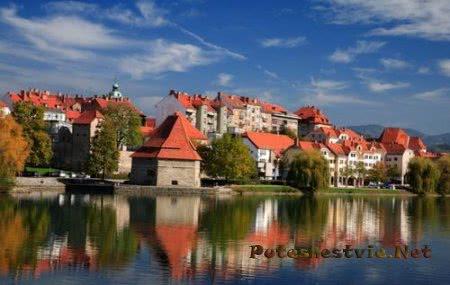Город Марибор в Словении