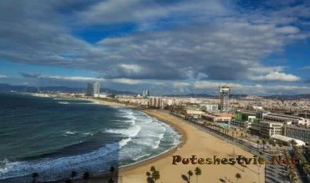 Живописные города на побережье Испании