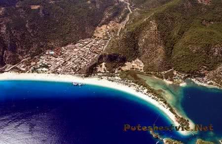 Голубая Лагуна курорта Олюдениз