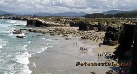 Пляж Кафедральных соборов в Галисии