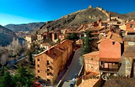 Старинные особняки Альбаррасина