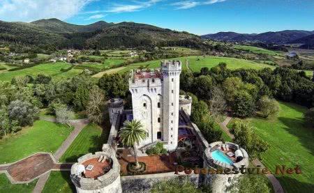 Замок Артеага в Бискайи