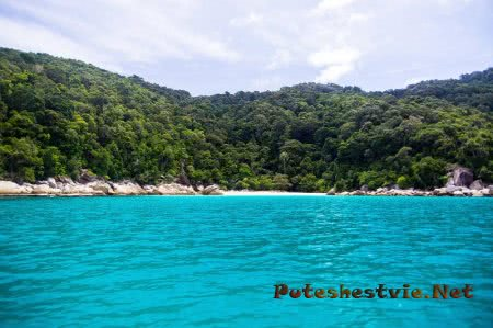 Отдых на острове Бесар в Малайзии