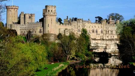 Замок Уорвик в Англии