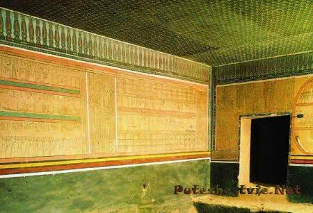 Гробница фараона Аменхотепа II
