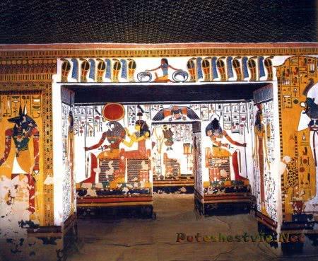 Гробница царицы Нефертари