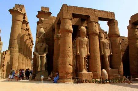 Луксорский храм Египта
