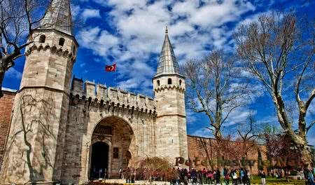 Дворец Топкапы в Стамбуле