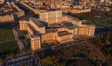 Красивые дворцы Бухареста