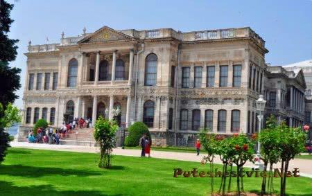 Турецкий дворец Долмабахче