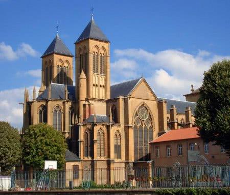 Базилика аббатства Святого Викентия