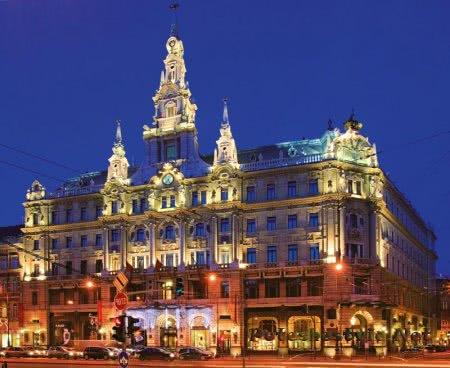 Отель Boscolo - New York Cafe в Будапеште