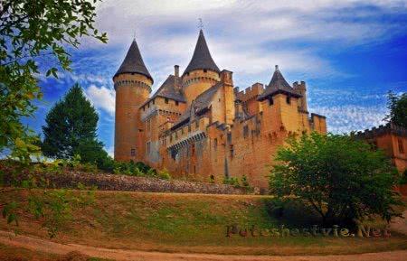 Замок Пюимартен