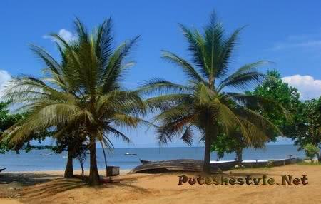 Курорт Криби в Камеруне