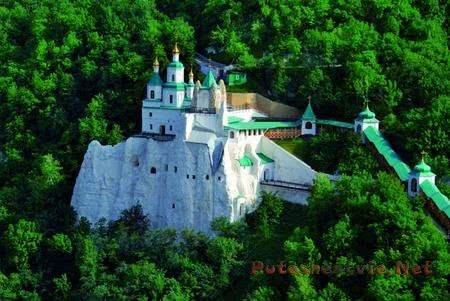 Святогорская лавра в Святых Горах Новороссии