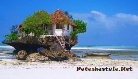 Остров Занзибар в Африке