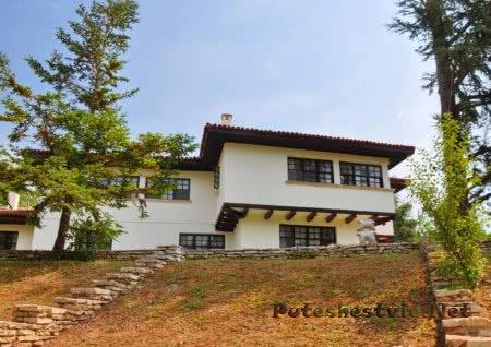 Дворец «Тихое гнездо» в Болгарии