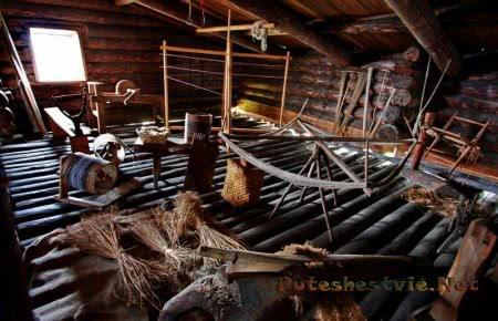Деревянный музей Кижи