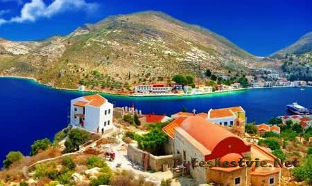 Остров Кос в Греции