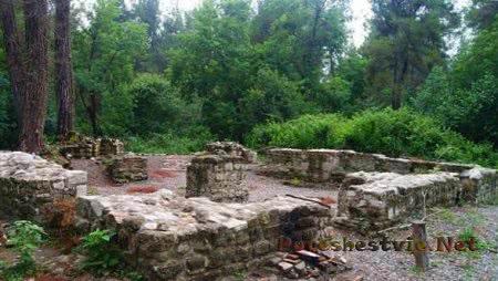 Древнее византийское городище