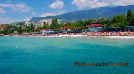 Пляжи курорта Партенит