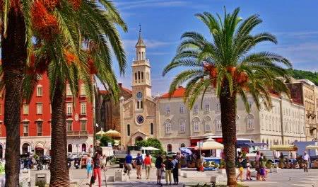 город-курорт Хорватии – Сплит