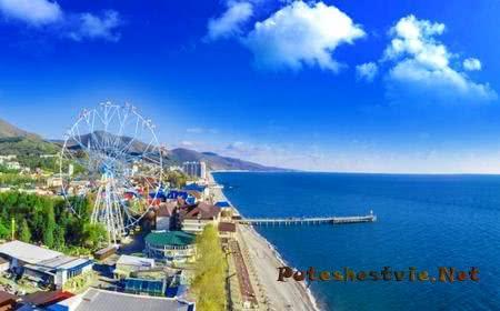 Отдых на курорте Лазаревское на берегу Черного моря