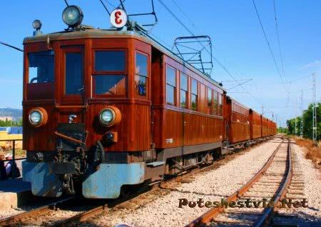 Поезд Пальма-Сольер