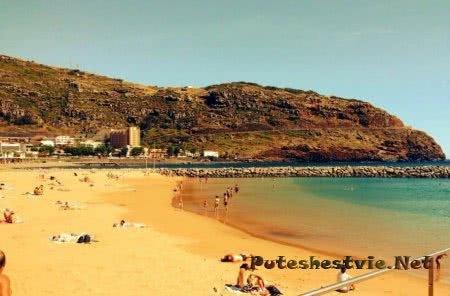 Пляжи острова Мадейра