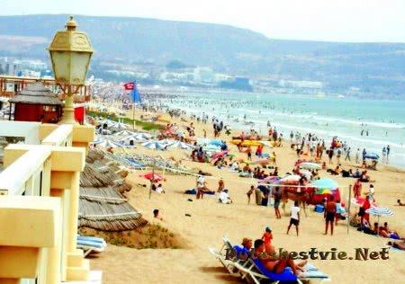 Пляжи города Касабланка