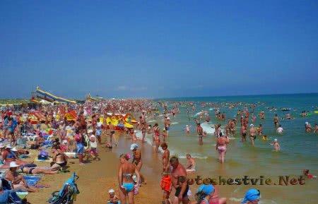 Пляжи поселка Пересыпь