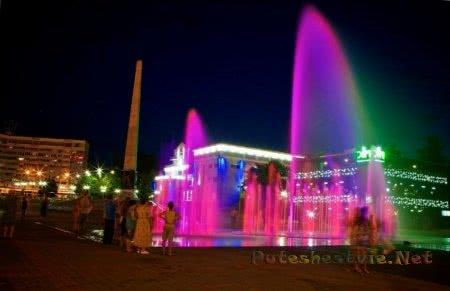 Поющий фонтан Туапсе