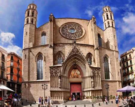 Церковь Santa Maria del Pi