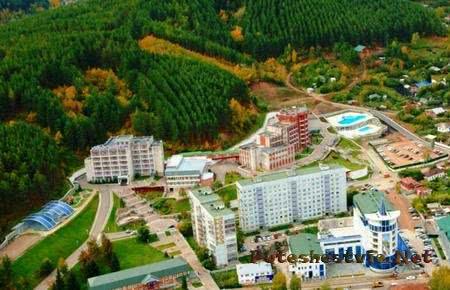 Санатории курорта Белокуриха