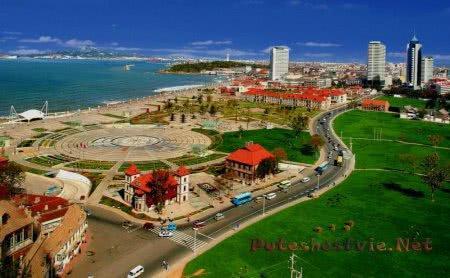 Курорты Китая на море