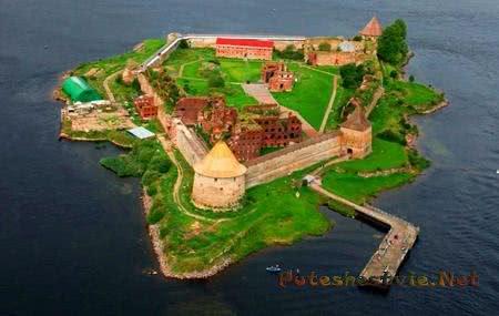 Крепость Орешек в Санкт-Петербурге