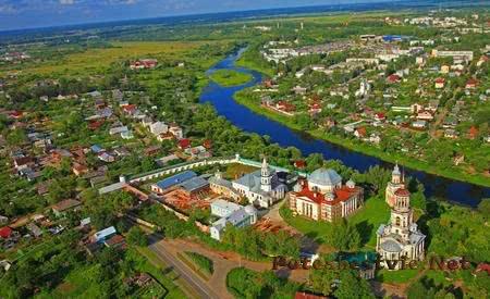 Старинный город Торжок